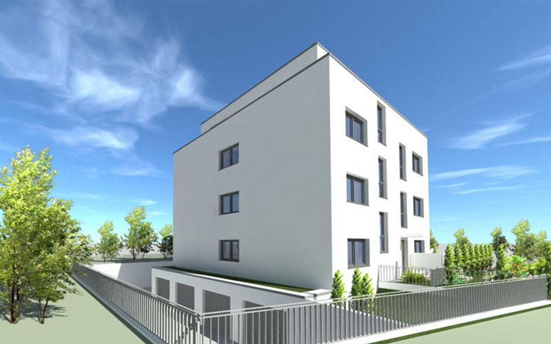 Bochum, Friedrich Kakort Str. - Komplettansicht (Rückseite)