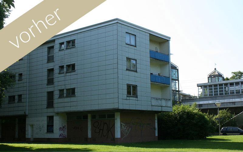 Lavida Wohnen 3: vor der Sanierung völlig unattraktiv und veraltet