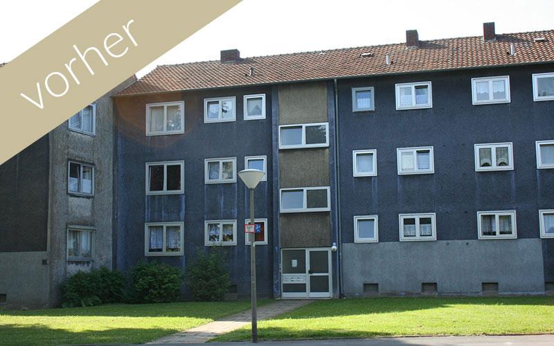 Lavida Wohnen 3: Ansicht vor der Sanierung