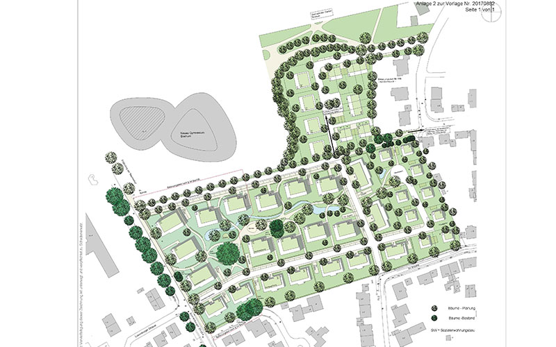 Bochum Querenburger Straße 47 Bebauungsplan