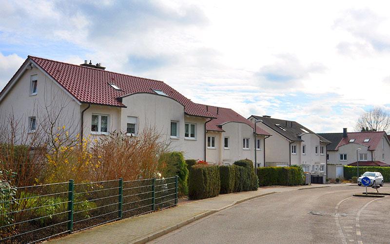 Einfamilienhäuser am Höhenweg Bochum